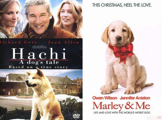Dog Death Double Bill Marley Me 2008 Hachi A Dog S Tale 2009 Thetearblog